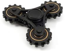 EDC Tri-Spinnerspinner Figdet spinner- Black/ Gold