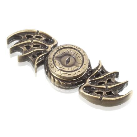 EDC dragon pattern Fidget Spinner- Bronze