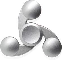Kirsite Tri-Spinnerspinner Fidget Spinner- Sølv