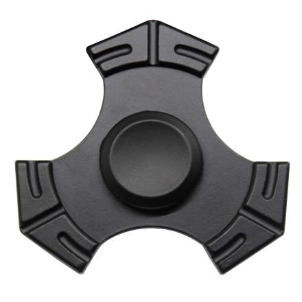 EDC kirsite Tri-Spinnerspinner Fidget Spinner- Black