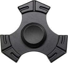 Edc Kirsite Tri-Spinnerspinner Fidget Spinner- Svart