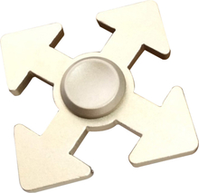 Arrow Mønster Aluminiumslegering Fidget Spinner- Gull