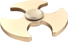 Edc Axe Mønster Aluminiumslegering Tri-Spinnerspinner Fidget Spinner- Gull