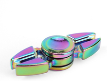 Fargelagt Titanium Alloy Fidget Spinner