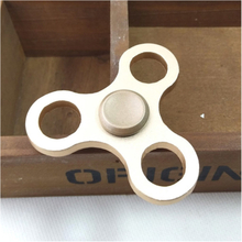 Edc Aluminiumslegering Tri-Spinner Spinner Fidget Spinner- Gull