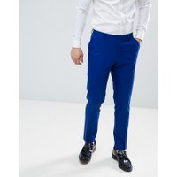 ASOS DESIGN skinny suit trousers in royal blue - Royal blue