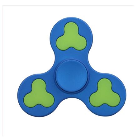 EDC stress reducer Tri-Spinner spinner Fidget spinner- Blue
