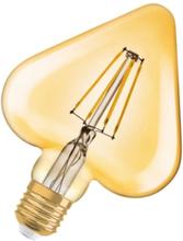 Osram Vintage 1906 Hjärta LED 4,5W/825 (40W) E27 - Guld