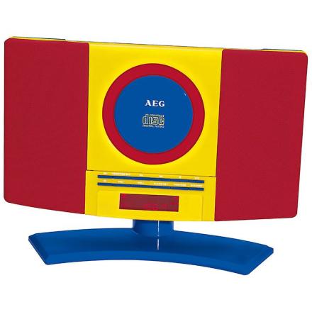 AEG HiFi anlæg CD/MP3 MC 4464 børn linje