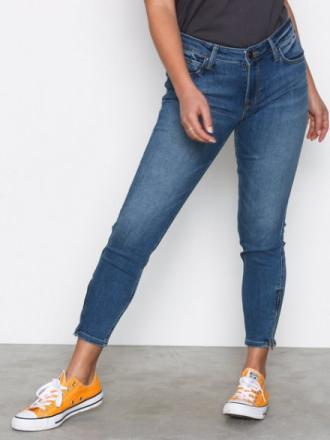 Lee Jeans Scarlett Cropped Ninety N Skinny Denim