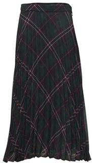 Dondup Skirt Tartan Green/Red/Blue 10 Yrs