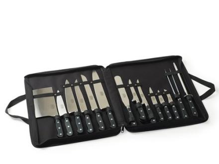 Sabatier 15-piece knife set. 9 stk. på lager