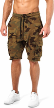 Better Bodies Bronx Cargo Shorts, military camo, medium Shorts herr