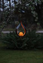 Star Trading Solcellsdekoration Melilla Hängande Orange