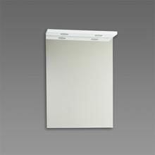 Spegel med ramp Källa / Ramsnäs 600 mm, Vit, 600 mm