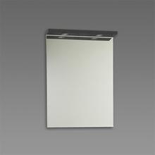 Spegel med ramp Källa / Ramsnäs 600 mm, Granit, 600 mm