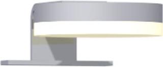 Dansani Jupiter spejllampe til Dansani spejle med lysstyring, Ø80 mm, krom