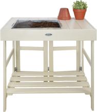 Esschert Design plantebord hvid