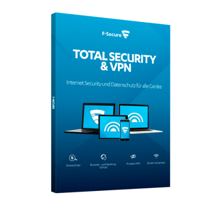 F-Secure Total Security and Privacy - 3 enheder / 1 år