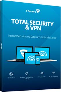 F-Secure Total Security and Privacy - 5 enheder / 1 år