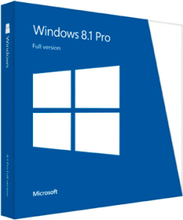Microsoft Windows 8.1 Pro Produktnøgle - 32-bit/64-bit