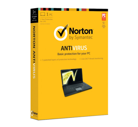 Norton Antivirus - 1 PC / 1 år