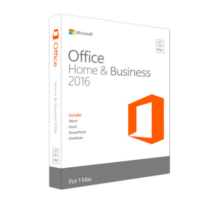 Microsoft Office Home & Business 2016 til Mac