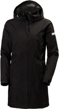 Women's Aden Long Jacket Musta L