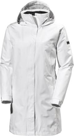Women's Aden Long Jacket Valkoinen L