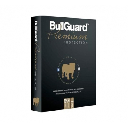 BullGuard Premium Protection 2019 - 3 enheder / 1 år | PC/Mac |