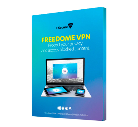F-Secure Freedome VPN 3 enheder / 1 år (Win/Mac/Android/iOS)