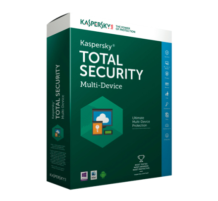 Kaspersky Total Security Multi-Device 2019 - 1 enhed / 1 år