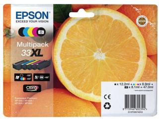 Bläckpatron EPSON C13T33574010Svart 5/FP