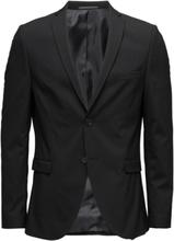 Slhslim-Mylologan Black Blazer B Noos Blazer Kavaj Svart Selected Homme