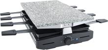 Steba Raclette til 8 pers - 1200w - steintopp