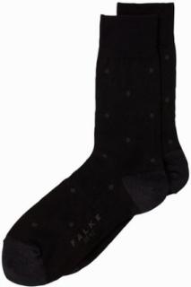 Falke Dot Socks Strømper Antrasit Melange