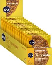GU Energy Stroop Wafel Box 16x32g Gingerade 2020 Näringstillskott & Paket