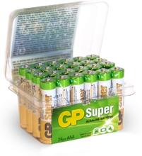 GP BATTERIES GP Super Alkaline AAA-batteri, 24-pack 4891199182884 Replace: N/AGP BATTERIES GP Super Alkaline AAA-batteri, 24-pack