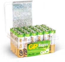 GP BATTERIES GP Super Alkaline AA-batteri, 24-pack 4891199182853 Replace: N/AGP BATTERIES GP Super Alkaline AA-batteri, 24-pack