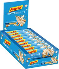 PowerBar Protein Nut 2 Bar Box 18x2x22,5g White Chocolate Almond 2020 Näringstillskott & Paket