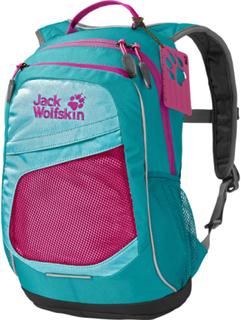 Jack Wolfskin Track Jack Ryggsekk Barn Rosa/turkis 2019 Fritids- og Skolesekker