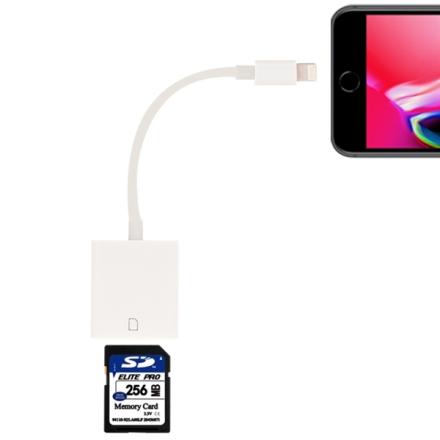 iPhone / iPad kortinlukija SD muistikortti