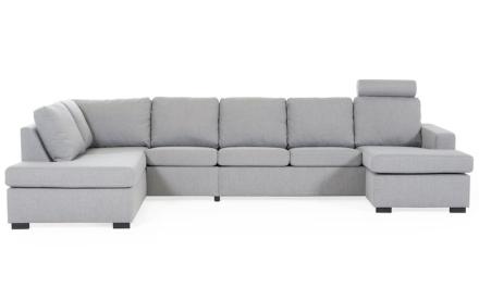 KLIPPAN U-soffa XL Vänster Tove Ljusgrå