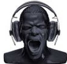Scream hörlursställ