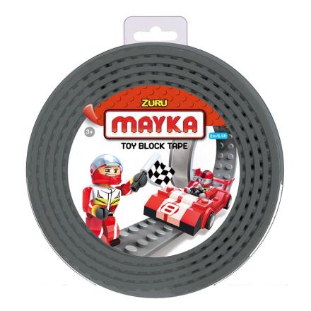 Mayka Block Tape Medium 2 m Grå - Lekmer
