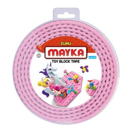 Mayka Block Tape Medium 2 m Rosa - Lekmer