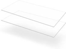 vidaXL Plexiglasskivor 2 st 60x120 cm 10 mm