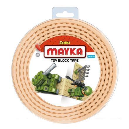 Mayka Block Tape Medium 2 m Gul - Lekmer
