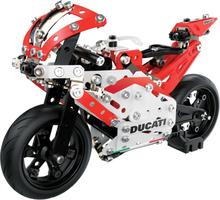 Meccano Modellsats Ducati Moto GP röd 6044539