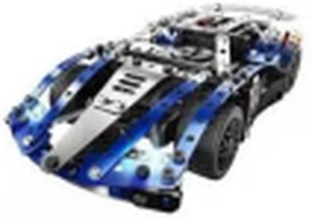 Meccano 25-i-1 Modellsats Super Car blå 6044495